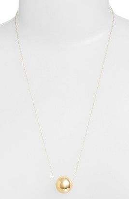 Women's Argento Vivo Sphere Pendant Necklace $68 thestylecure.com