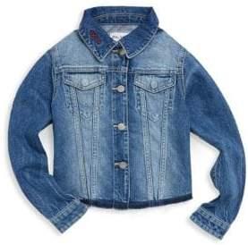 DL Premium Denim Toddler's, Little Girl's& Girl's Manning Denim Jacket