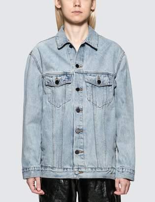 Alexander Wang.T Daze Bleach Denim Jacket