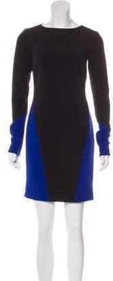 Nicole Miller Colorblock Mini Dress w/ Tags