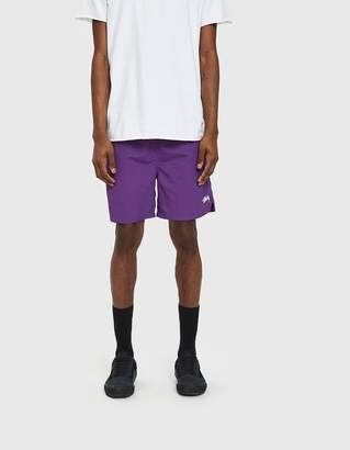 Stussy Stock Water Shorts in Purple