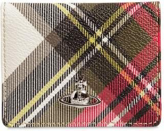 Vivienne Westwood DERBY COATED CANVAS CARD HOLDER