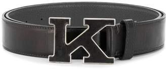 Kiton K buckle belt
