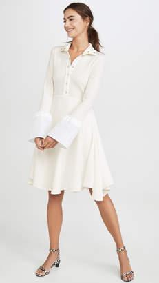 Ellery Concourse Tulip Sleeve Dress