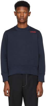 Wales Bonner Navy Creolite Sweatshirt