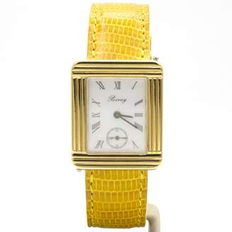 Poiray Ma Premiere Grand Modele Gold gold and steel Watches