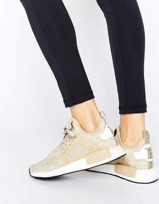 Adidas adidas Originals Beige NMD Xr1 Sneakers $156 thestylecure.com