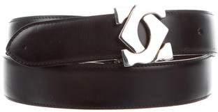 Cartier Reversible Leather Waist Belt