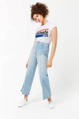 Forever 21 Wide-Leg Jeans