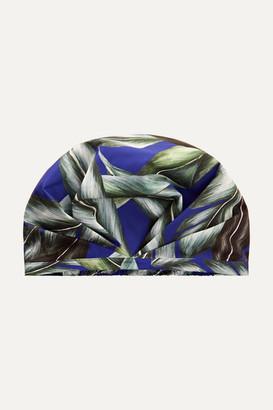 SHHHOWERCAP - The Pari Printed Shower Cap - Royal blue