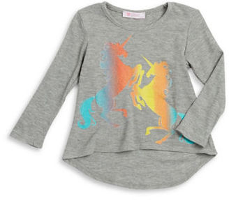 Pinc Premium Girls 2-6x Graphic Waffle-Knit Shirt $27 thestylecure.com