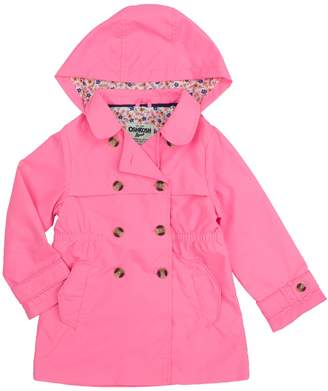 Osh Kosh Oshkosh Bgosh Girls 4-8 Midweight Trench Coat