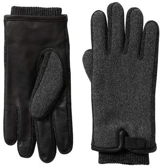 Banana Republic Wool-Blend Snap Glove