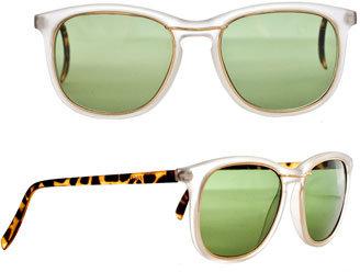 Vintage Pacific Star Clear Tortoiseshell Wayfarer Sunglasses