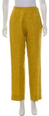 Christian Lacroix High-Rise Matelassé Pants