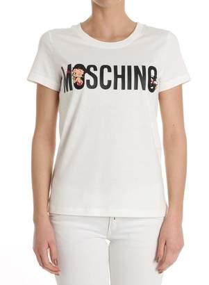 Moschino Betty Boop And Logo Print T-shirt