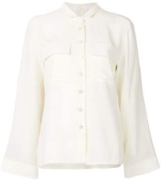 cropped pointed collar shirt - White Chloé Free Shipping Low Price 2y33A