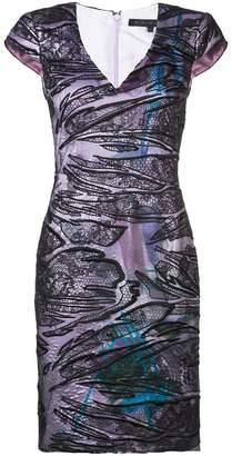 Rubin Singer lace overlay dress