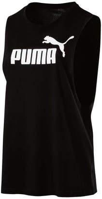 Puma Womens Cut Off Boyfriend Tank