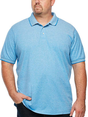 THE FOUNDRY SUPPLY CO. The Foundry Big & Tall Supply Co. Mens Short Sleeve Polo Shirt Big and Tall