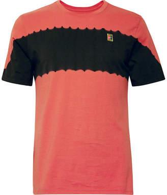 Nike Tennis Printed Cotton-Jersey T-Shirt