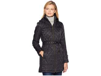 Vince Camuto Belted Quilt Jacket L1361