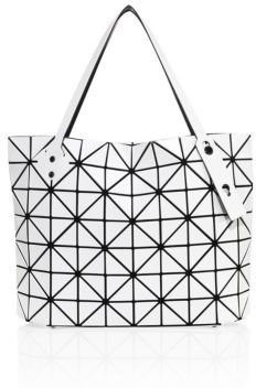 Bao Bao Issey Miyake Rock Matte Square Tote $895 thestylecure.com