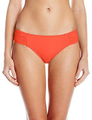 Seafolly Women's Ruched Side Retro Bikini Bottoms,(Size of :)