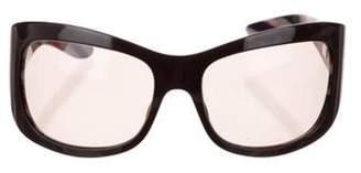 Missoni Square Tinted Sunglasses Purple Square Tinted Sunglasses