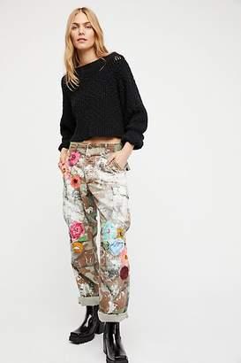 Rialto Jean Project Embroidered Camo Pant