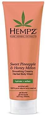 Hempz Sweet Pineapple & Honey Melon Creamy Herbal Body Wash