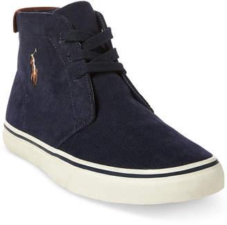 Polo Ralph Lauren Men's Talin Corduroy Sneakers Men's Shoes
