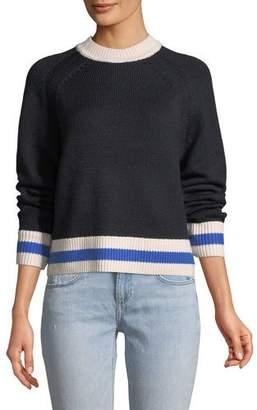 Rag & Bone Hattie Long-Sleeve Crewneck Sweater
