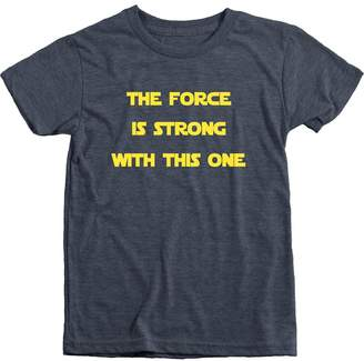 Star Wars Trunk Candy The Force Is Strong With This One Boys Tri-Blend T-Shirt
