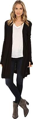LAmade Women's Mixed Up Cardi Sweater MD