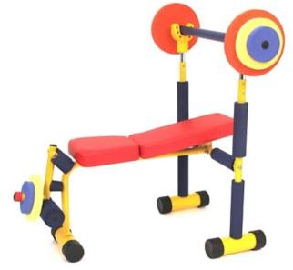 Fun And Fitness For Kids Weight Bench $109.99 thestylecure.com
