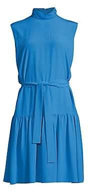 Derek Lam Women's Silk Drop-Waist Dress