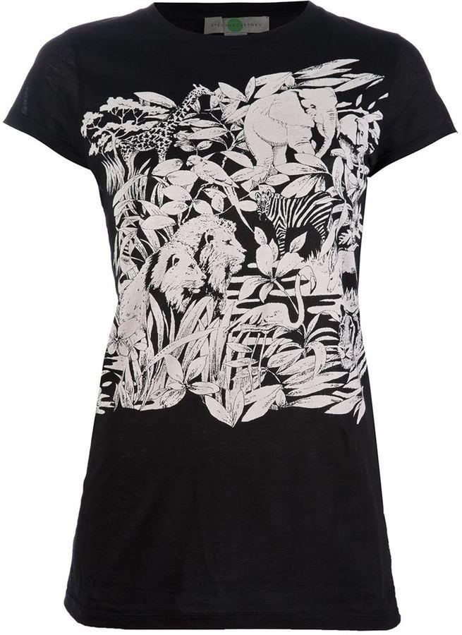 Stella McCartney jungle print t-shirt