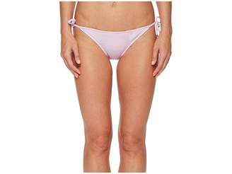 Bikini Lab THE Rib-Thym Nation String Tie Side Bikini Bottom Women's Swimwear