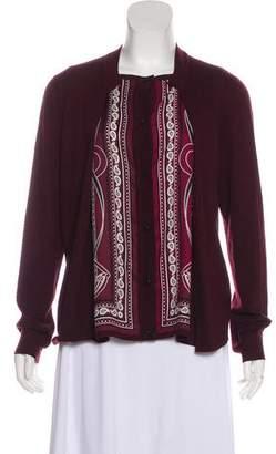 Hermes Grand Manège Virgin Wool Cardigan