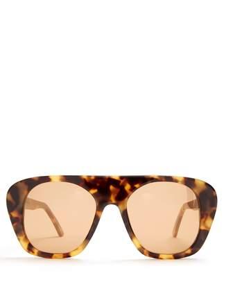 Marques Almeida MARQUES'ALMEIDA Aviator acetate sunglasses