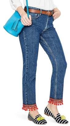 Boden Cambridge Embellished Ankle Skimmer Jeans