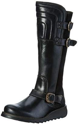 Fly London Women''s SHER730FLY Boots, Black, 41 EU