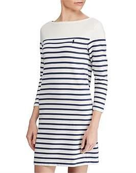 Polo Ralph Lauren Gabrla Long Sleeve Dress