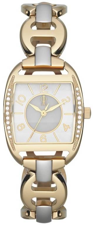 JLO by Jennifer Lopez Women's Crystal Two Tone Stainless Steel Watch