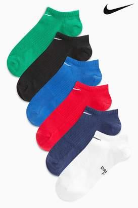 Next Mens Nike Kids No Show Sock Six Pack