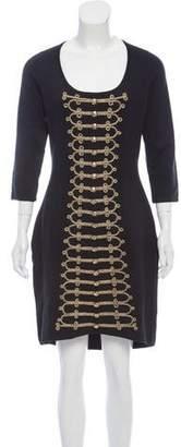 Temperley London Militant Knit Dress