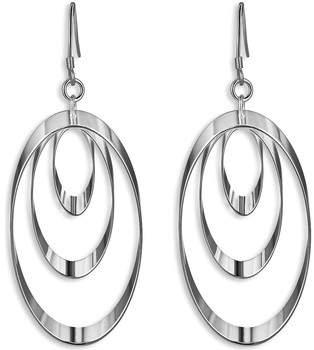 Fashionvictime Ohrringe Ohrringe Damen - Versilbert Modeschmuck