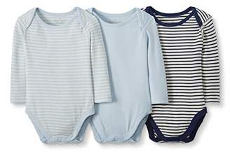 4e1963f3401c3 Hanna Andersson Moon and Back by Baby 3-Pack Organic Cotton Long Sleeve  Bodysuit