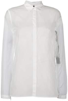 4b553b910 Unravel Project sheer longline shirt